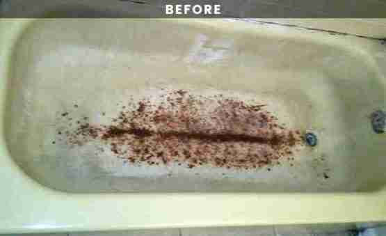 Rusty Bathtub Reglazing
