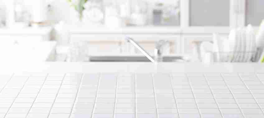 Ceramic Tile Countertop